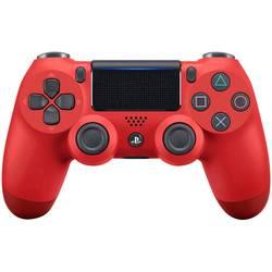 Gamepad Sony Dualshock 4 V2, červená