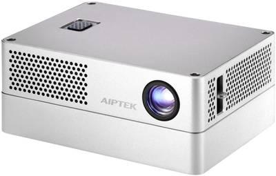 Videoproiettore DLP Aiptek iBeamBLOCK Luminosità: 400 lm 1280 x 720 WXGA 500 : 1 Grigio