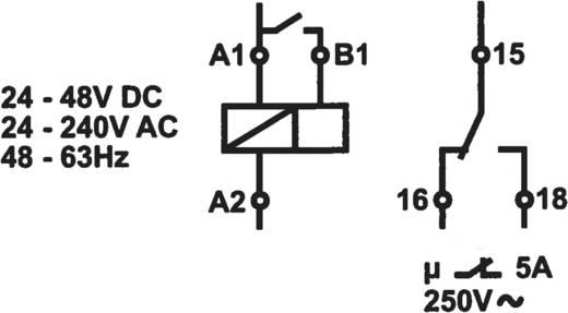 Basetech ZR-ERV-BAT Zeitrelais Multifunktional 1 St. Zeitbereich ...