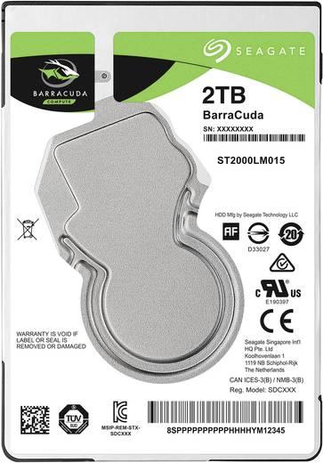 Interne Festplatte 6.35 cm (2.5 Zoll) 2 TB Seagate ST2000LM015