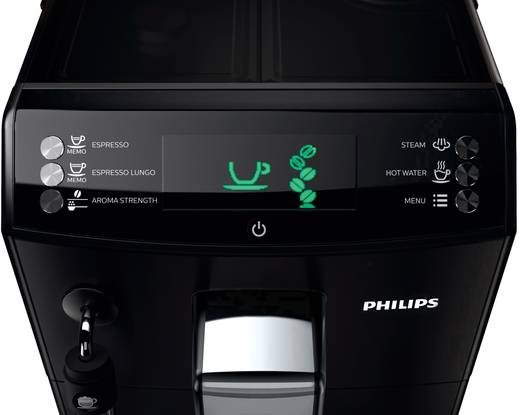 Kaffeevollautomat Philips HD8831/01 Schwarz