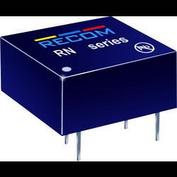 DC/DC měnič Recom RN-1205S/P, vstup 12 V, výstup 5 V, 250 mA, 1,25 W