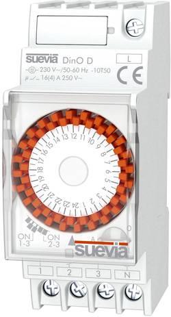 Časové relé - časovač Suevia DinO D SU291031, 1 ks