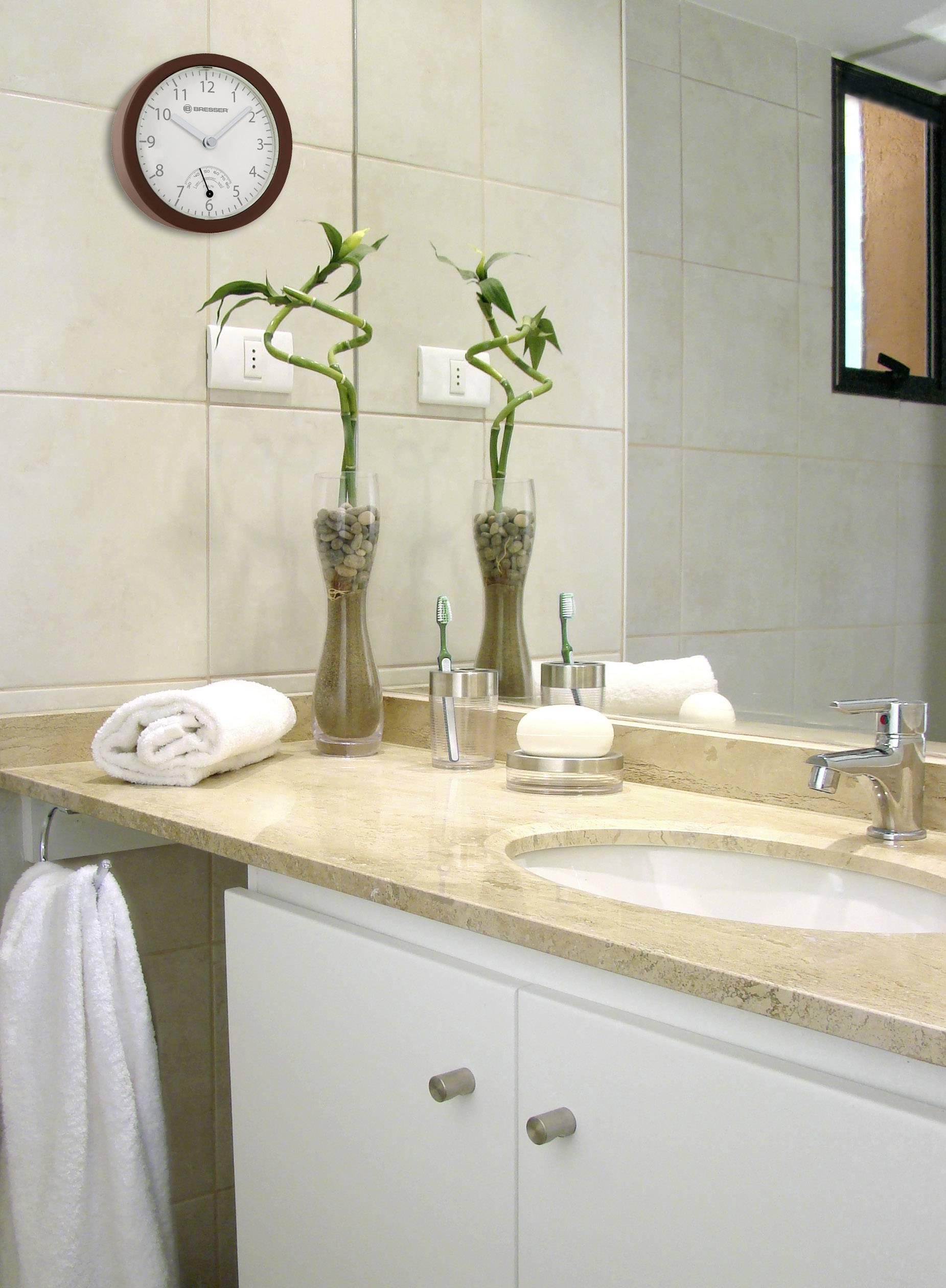 wanduhr badezimmer uhr lautlos kklock wanduhr wanduhren fa r wohnzimmer ba ro fr bro. Black Bedroom Furniture Sets. Home Design Ideas