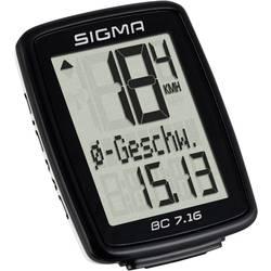 Cyklocomputer Sigma BC 7.16, káblový prenos