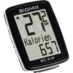 Cyklocomputer Sigma BC 9.16, káblový prenos, so senzorom kolesá