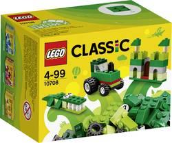 Boîte de construction créative vert LEGO® CLASSIC 10708 Nombre de LEGO (pièces)66