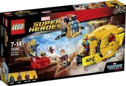 Les Gardiens de la Galaxy 2 LEGO® MARVEL SUPER HEROES 76080 Nombre de LEGO (pièces)323