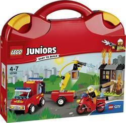 La valisette «les pompiers» LEGO® JUNIORS 10740 Nombre de LEGO (pièces)110