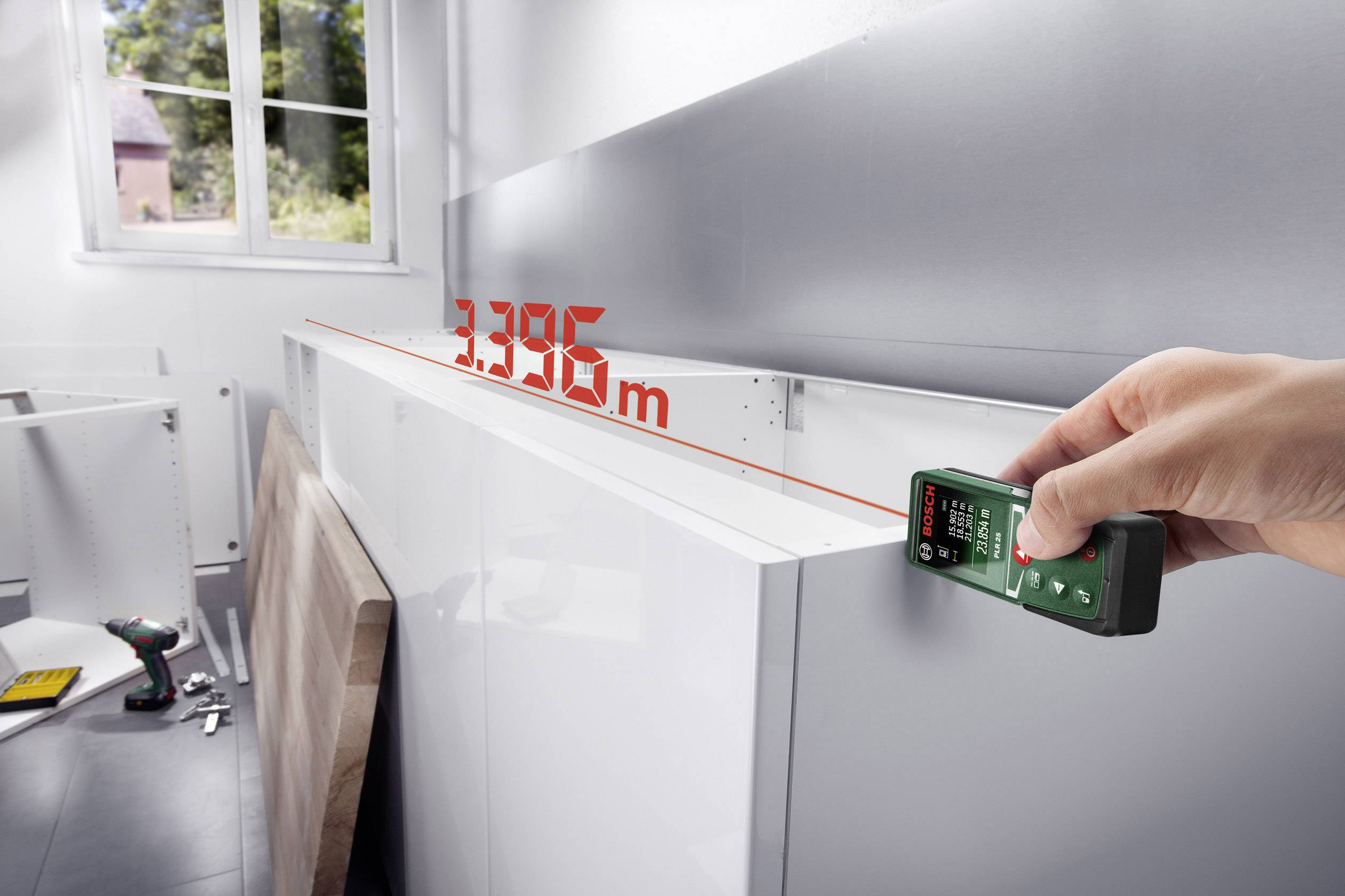 Bosch Entfernungsmesser Zamo 2 : Bosch home and garden plr laser entfernungsmesser messbereich