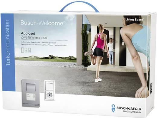 busch jaeger 83004 2 t rsprechanlage kabelgebunden komplett set 2 familienhaus studiowei matt. Black Bedroom Furniture Sets. Home Design Ideas