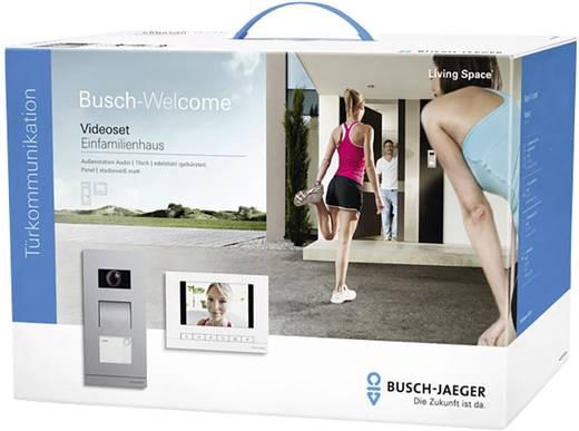 video t rsprechanlage kabelgebunden komplett set busch. Black Bedroom Furniture Sets. Home Design Ideas