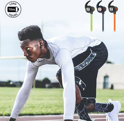 creative outlier sports bluetooth sport kopfh rer in ear. Black Bedroom Furniture Sets. Home Design Ideas