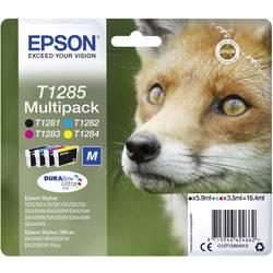 Sada náplní do tlačiarne Epson T1285 C13T12854012, čierna, zelenomodrá, purpurová, žltá