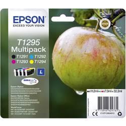 Sada náplní do tlačiarne Epson T1295 C13T12954012, čierna, zelenomodrá, purpurová, žltá