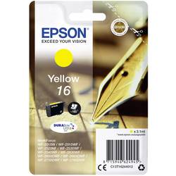 Náplň do tlačiarne Epson T1624, 16 C13T16244012, žltá