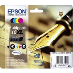 Epson Ink T1636, 16XL originál černá, azurová, purppurová, žlutá C13T16364012
