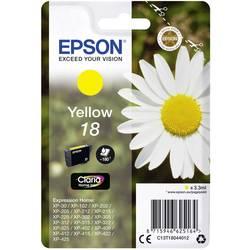 Náplň do tlačiarne Epson T1804, 18 C13T18044012, žltá
