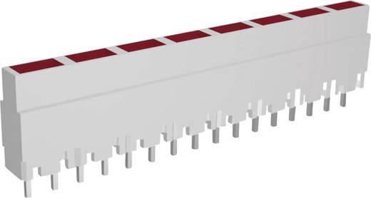 LED-Reihe 8fach Rot (L x B x H) 40.8 x 3.7 x 9 mm Signal Construct ZALW 080