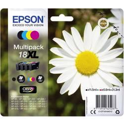 Epson Ink T1816, 18XL originál černá, azurová, purppurová, žlutá C13T18164012