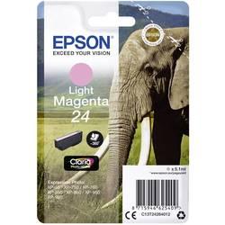 Náplň do tlačiarne Epson T2426, 24 C13T24264012, svetlá purpurová