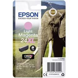 Náplň do tlačiarne Epson T2436, 24XL C13T24364012, svetlá purpurová