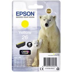 Náplň do tlačiarne Epson T2614, 26 C13T26144012, žltá