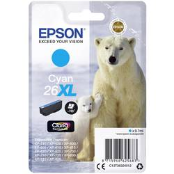 Náplň do tlačiarne Epson T2632, 26XL C13T26324012, zelenomodrá
