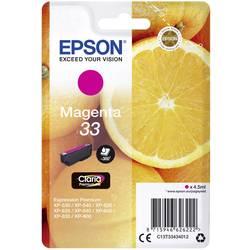 Náplň do tlačiarne Epson T3343, 33 C13T33434012, purpurová