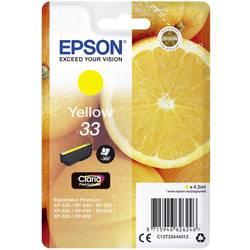 Náplň do tlačiarne Epson T3344, 33 C13T33444012, žltá