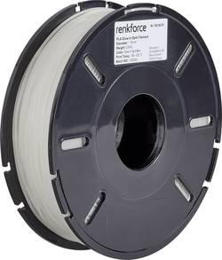 Vlákno pro 3D tiskárny Renkforce 01.04.01.5122, PLA plast, 1.75 mm, 500 g, modrá (fluorescenční)