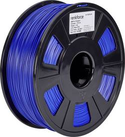 Vlákno pro 3D tiskárny Renkforce 01.04.12.1108, ABS plast, 1.75 mm, 1 kg, modrá