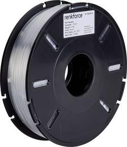 Vlákno pro 3D tiskárny Renkforce 01.04.07.5101, PC polykarbonát, 1.75 mm, 500 g, transparentní