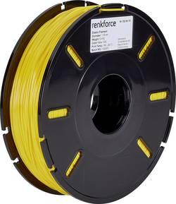 Vlákno pro 3D tiskárny Renkforce 01.04.13.5112, elastické , 1.75 mm, 500 g, žlutá