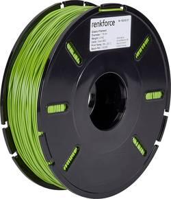 Vlákno pro 3D tiskárny Renkforce 01.04.13.5109, elastické , 1.75 mm, 500 g, zelená