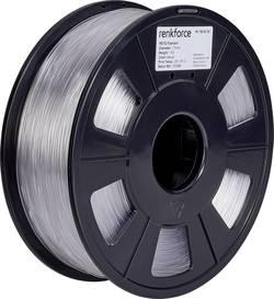Vlákno pro 3D tiskárny Renkforce 01.04.18.1101, PETG plast, 1.75 mm, 1 kg, transparentní