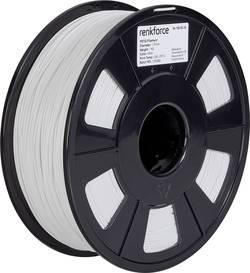 Vlákno pro 3D tiskárny Renkforce 01.04.18.1102, PETG plast, 1.75 mm, 1 kg, bílá