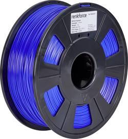 Vlákno pro 3D tiskárny Renkforce 01.04.18.1108, PETG plast, 1.75 mm, 1 kg, modrá