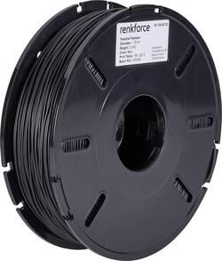 Vlákno pro 3D tiskárny Renkforce 01.04.04.5103, pružné vlákno , 1.75 mm, 500 g, černá