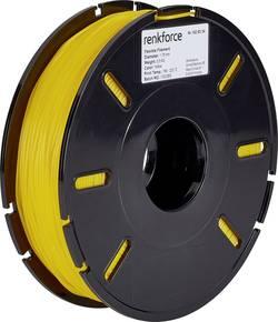 Vlákno pro 3D tiskárny Renkforce 01.04.04.5112, flexibilní, 1.75 mm, 500 g, žlutá