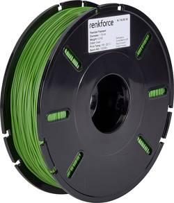 Vlákno pro 3D tiskárny Renkforce 01.04.04.5109, flexibilní, 1.75 mm, 500 g, zelená