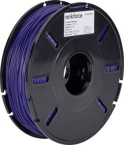 Vlákno pro 3D tiskárny Renkforce 01.04.04.5108, flexibilní, 1.75 mm, 500 g, modrá