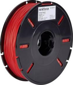 Vlákno pro 3D tiskárny Renkforce 01.04.04.5104, pružné vlákno , 1.75 mm, 500 g, červená