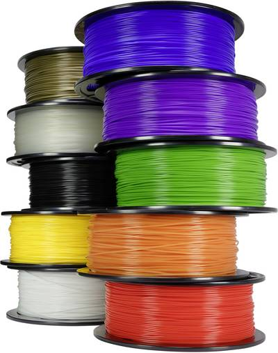 Filament Renkforce PLA 1.75 mm Schwarz 1 kg