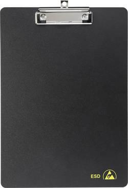Presse-papier antistatique (ESD) A4-317225 noir (L x l) 317 mm x 225 mm 1 pc(s)