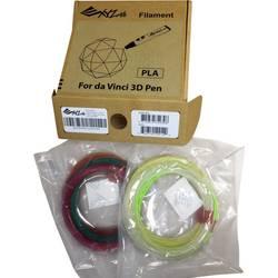 Sada vláken pro 3D tisková pera XYZprinting RFPLDXTW00H, PLA plast, 1.75 mm, různé barvy tříděné