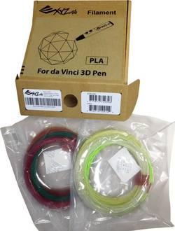 Sada vláken pro 3D tiskové pera XYZprinting RFPLDXTW00H, PLA plast, 1.75 mm, různé barvy tříděné