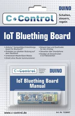 Image of Evaluationsboard C-Control IoT Bluetooth Board