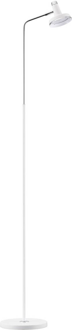 Lampadaire LED Nordlux Opera 5 W 140 cm bras flexible, fonction Tap-On blanc