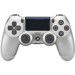 Gamepad Sony Dualshock 4 V2, stříbrná